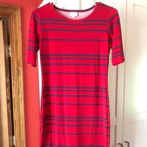 XS LuLaRoe Julia Dress